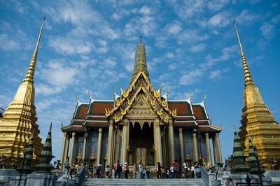 Известный дворец Бангкока