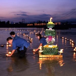 Празднование нового года в Таиланде