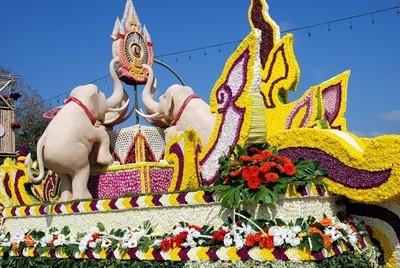 festival tsvetov v tailande Фестиваль цветов в Таиланде