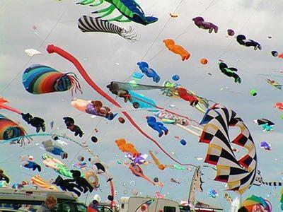 festival vozdushnyih zmeev Фестиваль воздушных змеев