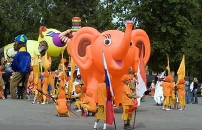 prazdnik slonov Праздник слонов