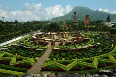tailand park nong nuch Таиланд   парк Нонг Нуч